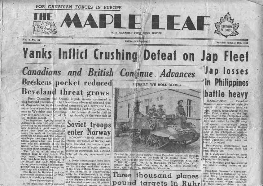 A995 022 002 Newspaper 1944 a - Basında Biz Görsel - 1