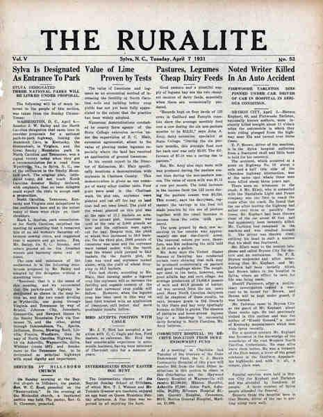 sylva April 7 1931 - Basında Biz Görsel - 8