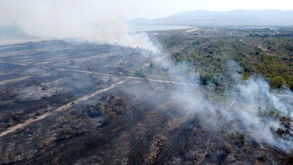 0x0 son dakika kizilirmak deltasi kus cennetinde yangin 1600175937177 - Yörüklerde yangın çıktı